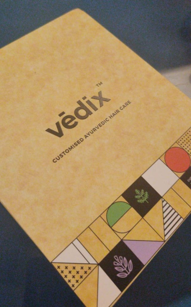 Vedix Ayurvedic Customised Hair Care Regimen review