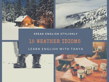 learn English with Tanya