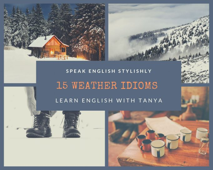 learn English with Tanya