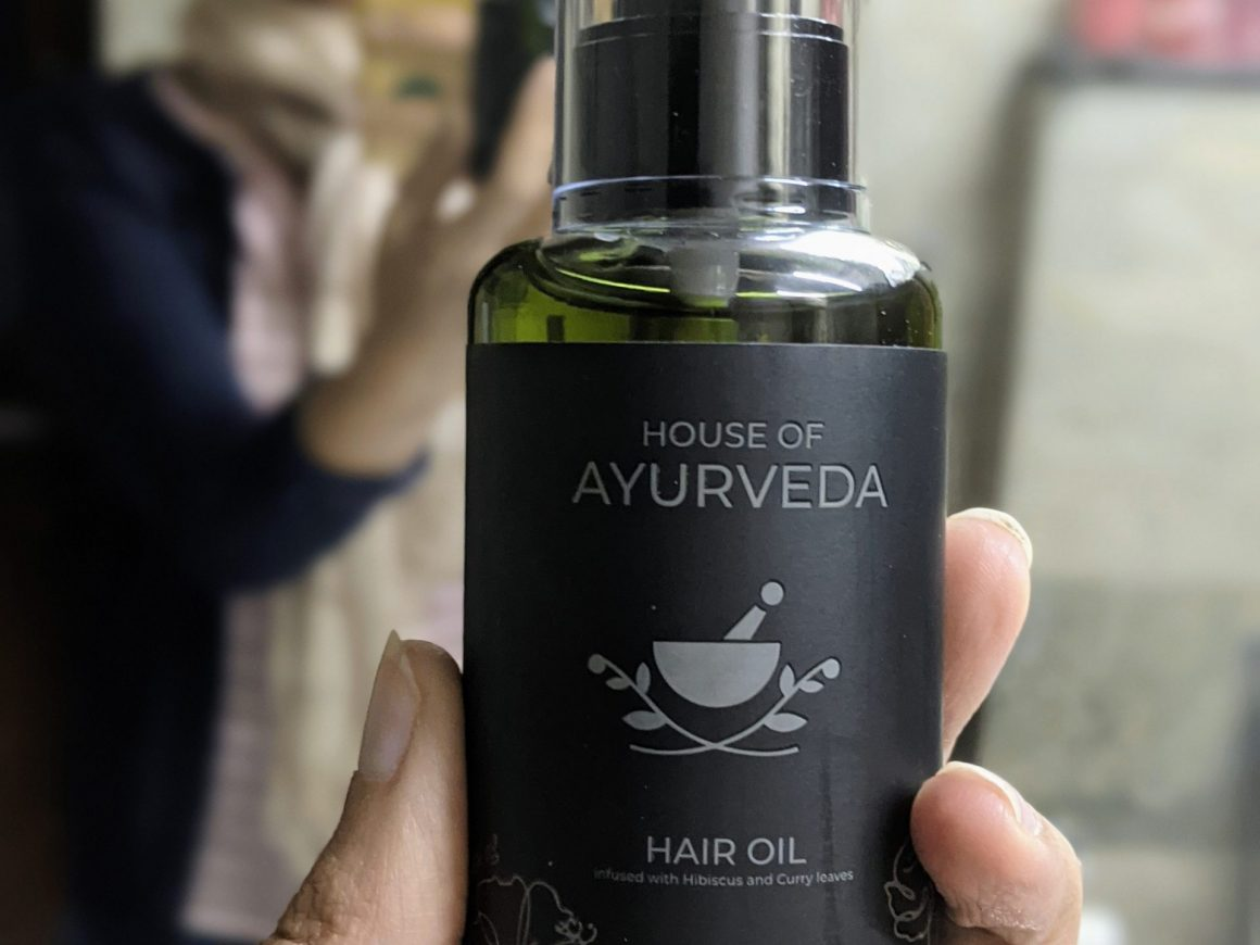 house of Ayurveda hair oil review