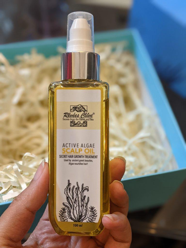Rêvées Clive Active Algae Scalp Oil review