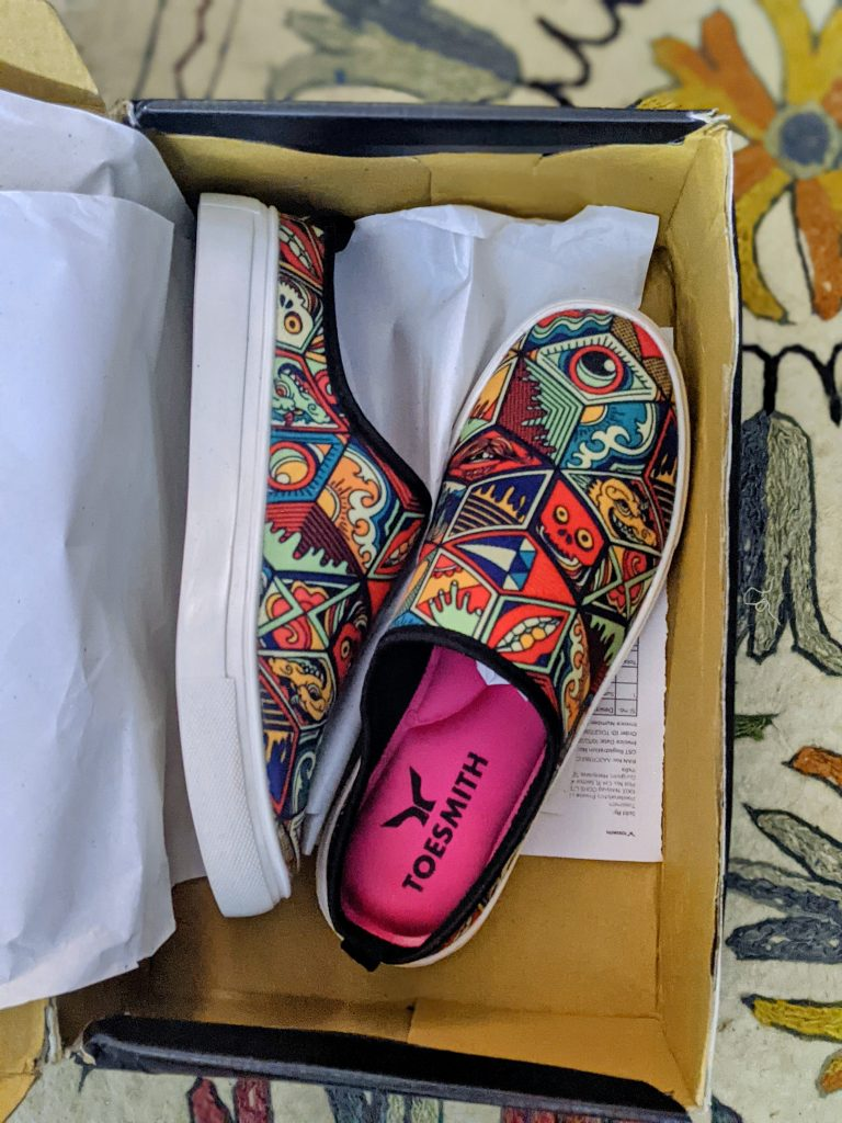 toesmith customised mules review