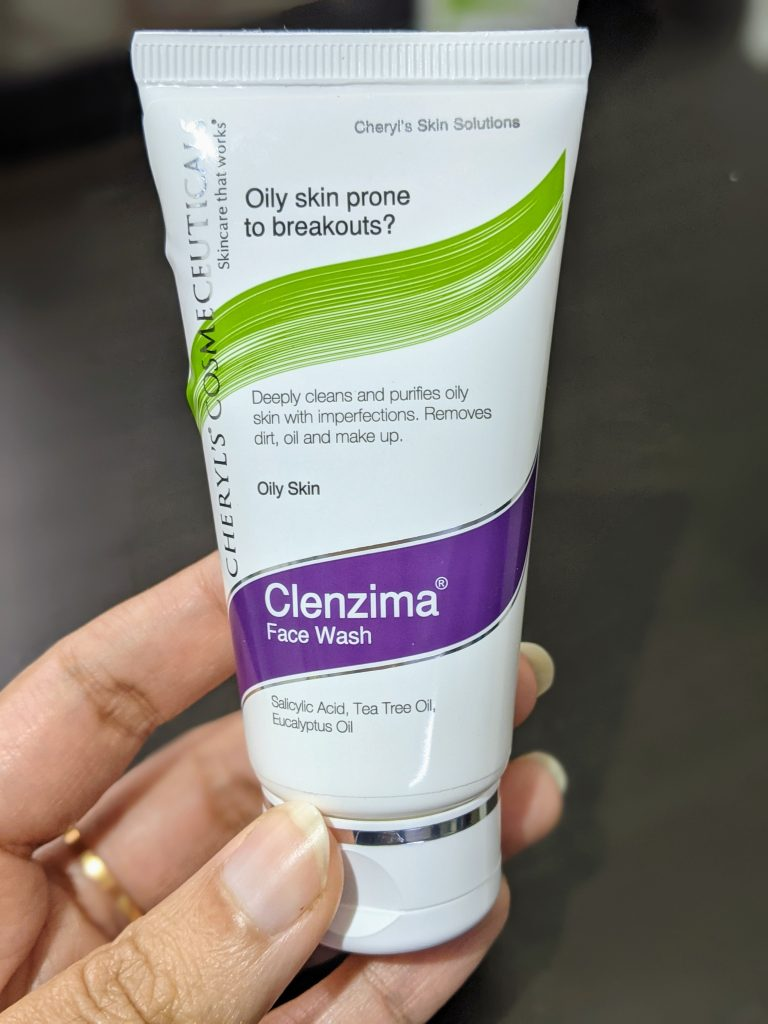 Cheryl's Clenzima Face Wash review