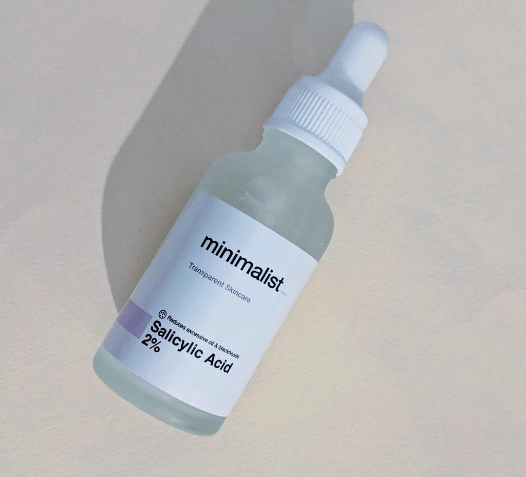 Minimalist Salicylic Acid 2% review