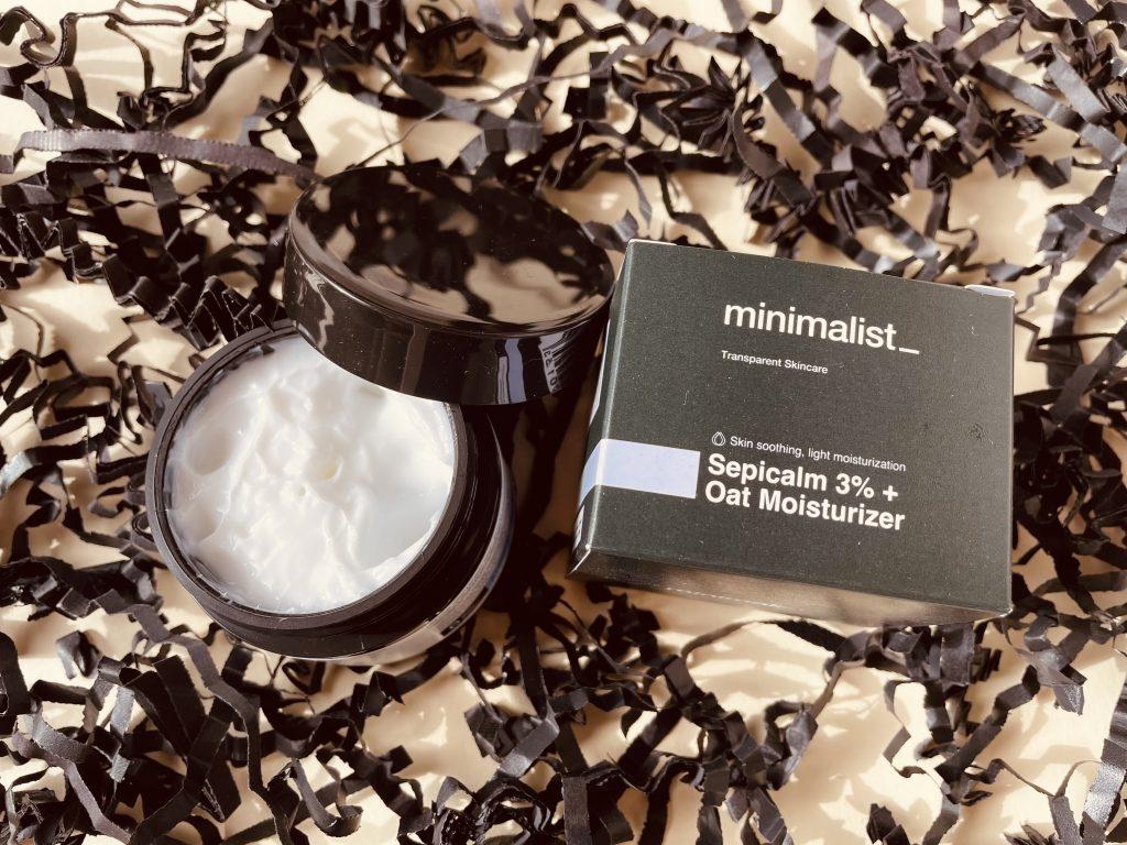 Minimalist Sepicalm 3% + Oat Moisturizer review