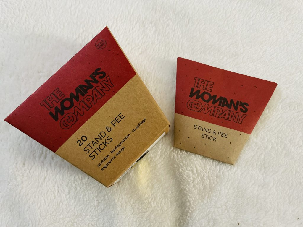 The Woman's Company Stand & Pee sticks Review