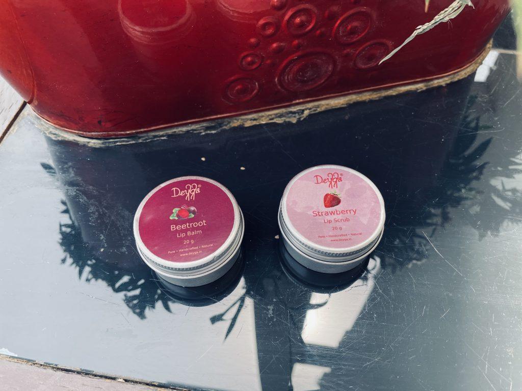 Deyga strawberry Lip Scrub review