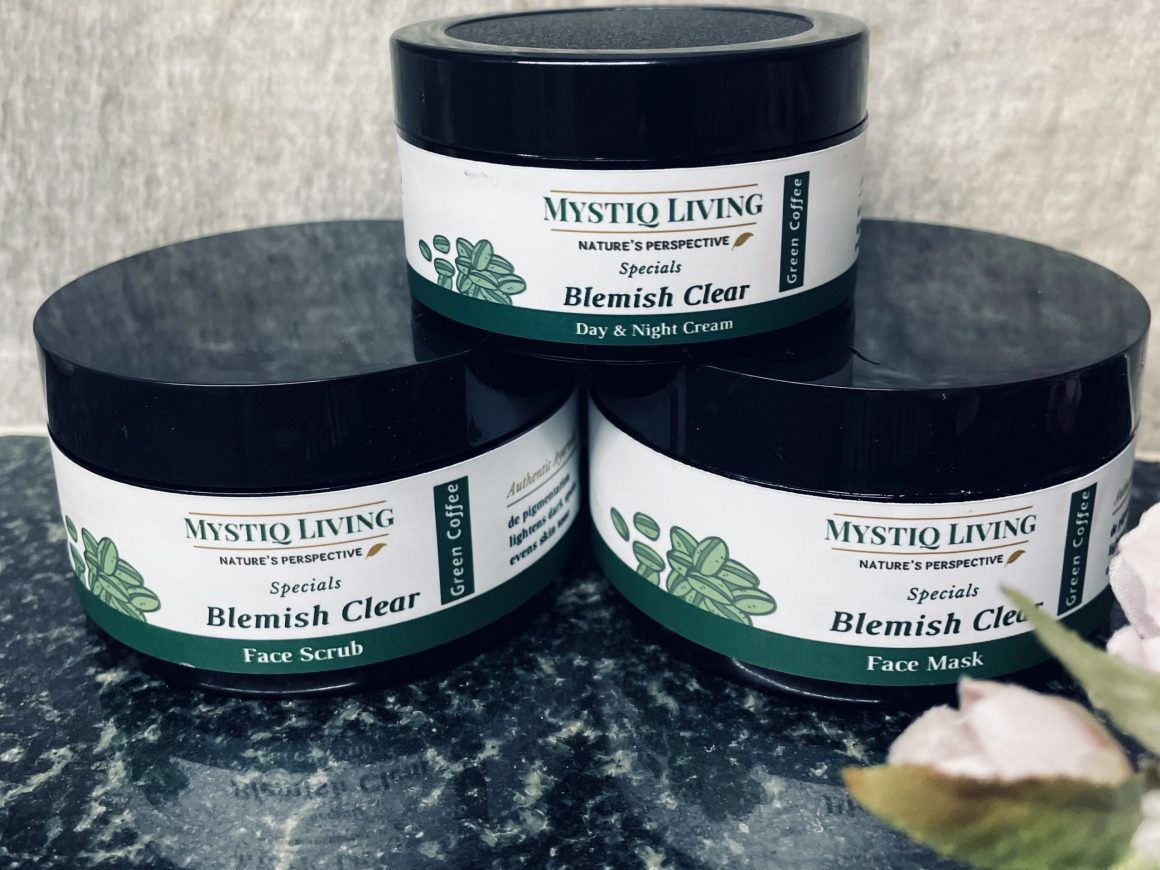 Mystiq Living Green Coffee Blemish Clear Kit review